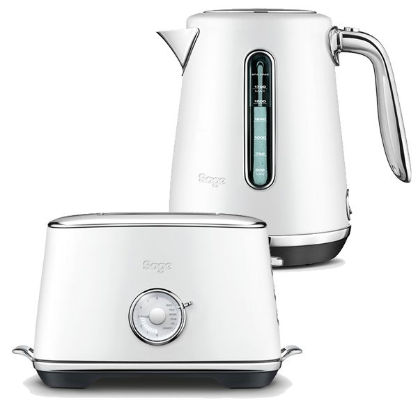 Sage Kettle & Toaster Set Select Luxe Sea Salt