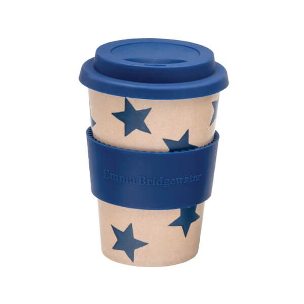 Emma Bridgewater Blue Star Rice Husk Cup