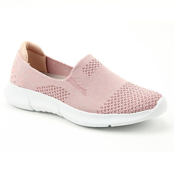 Heavenly Feet Holly Pink/Silver Ath-Leisure Comfort Shoes
