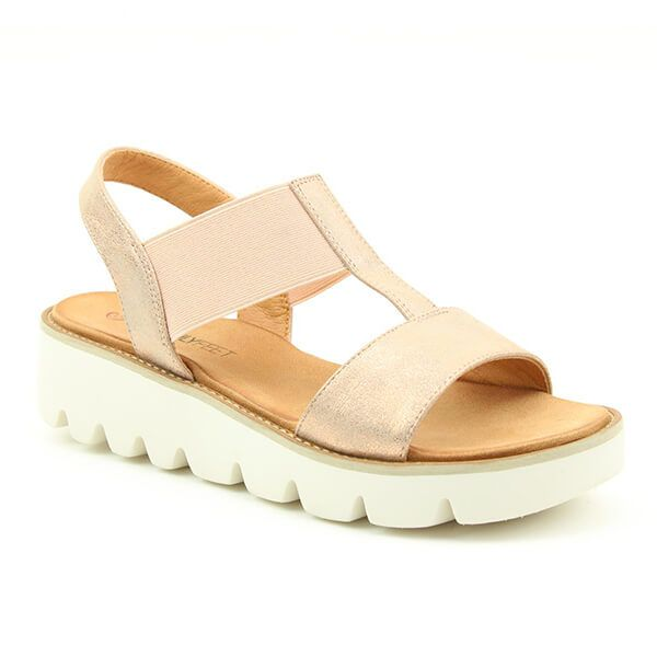 Heavenly Feet Ritz Rose Gold Premium Sandals