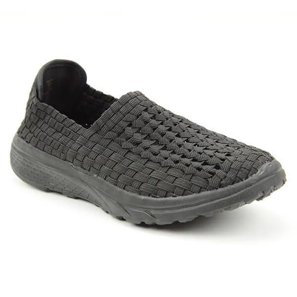 Heavenly Feet Cosmos Black Ath Leisure Comfort Shoes