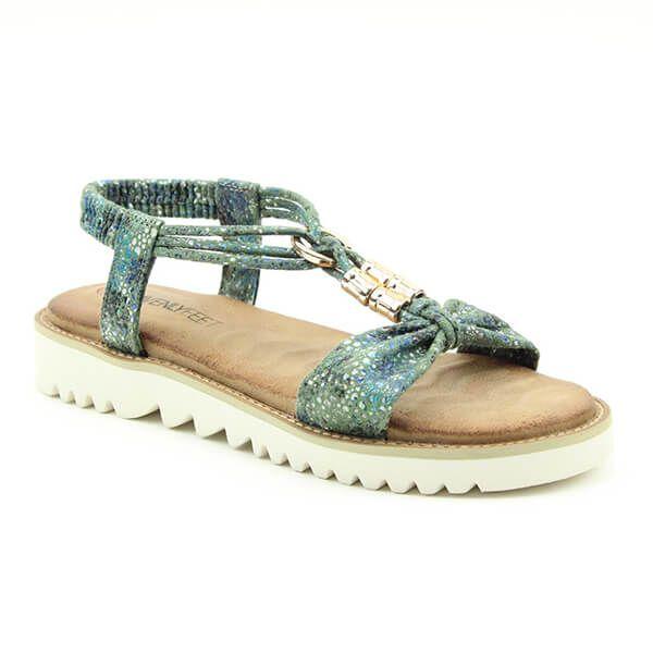 Heavenly Feet Ocean Lilly Ladies Premium Sandals