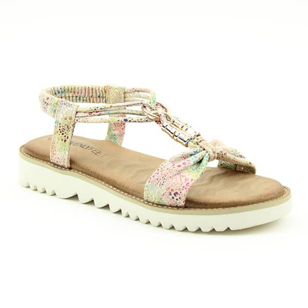Heavenly Feet Taupe Lilly Ladies Premium Sandals