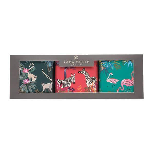 Sara Miller Tahiti Set 3 Square Caddies