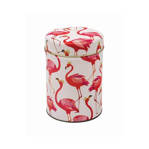 Sara Miller Flamingo Round Caddy