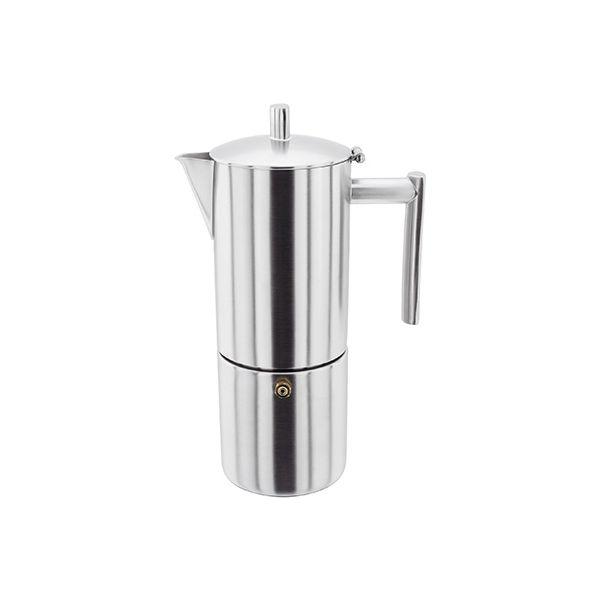 Stellar 4 Cup Espresso Maker Matt Stainless Steel