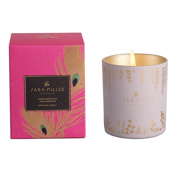 Sara Miller London Sandalwood, Oud & Cardamom 200g Candle