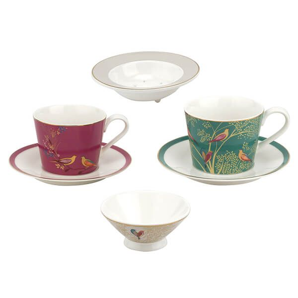 Sara Miller Chelsea Collection Tea for Two Set