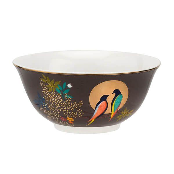 Sara Miller Chelsea Collection Dark Grey Mini Serving Bowl