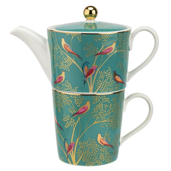Sara Miller Chelsea Collection Tea for One Green