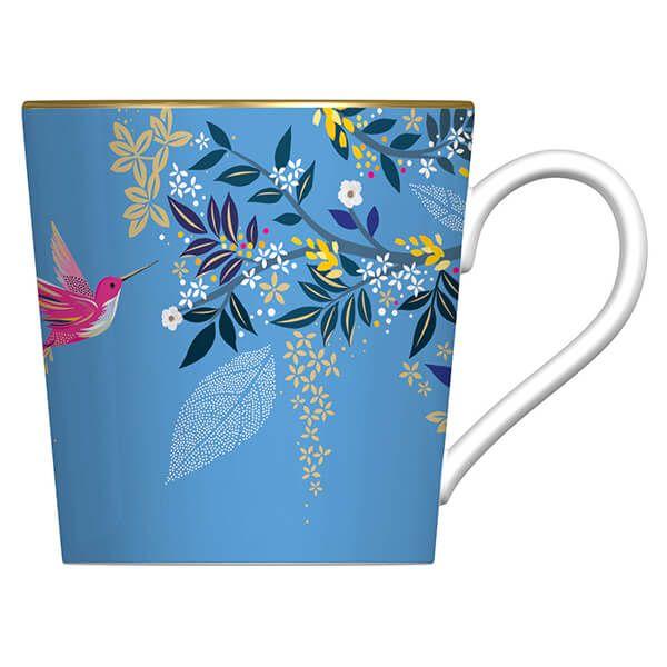 Sara Miller Chelsea Collection Light Blue Mug