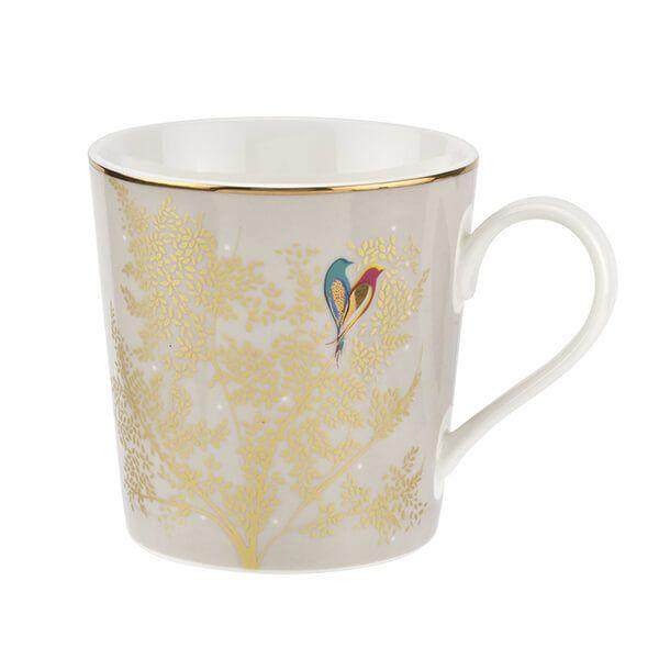 Sara Miller Chelsea Collection Light Grey Mug