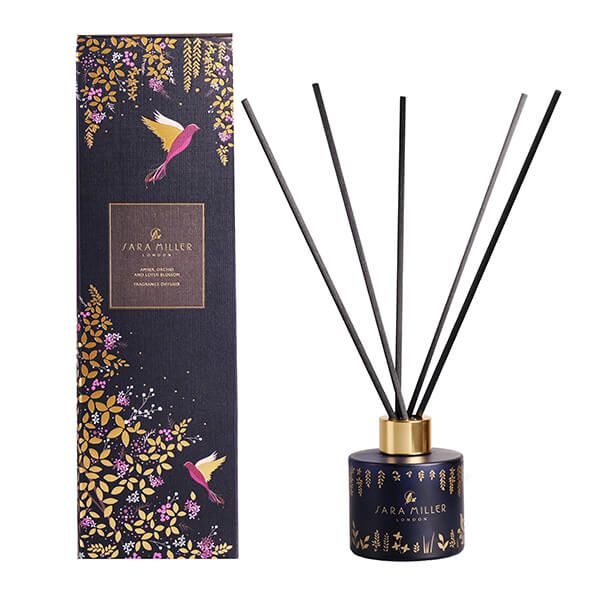 Sara Miller London Amber, Orchid & Lotus 100ml Diffuser