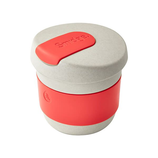 Smidge Coffee Cup 230ml Sand & Coral