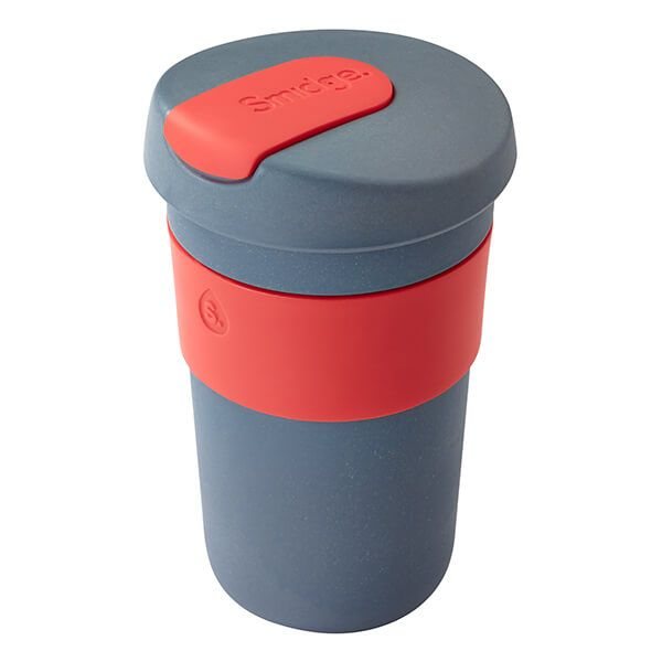 Smidge Coffee Cup 400ml Storm & Coral