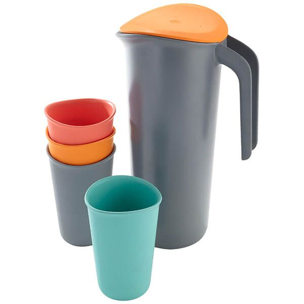 Smidge Jug & Cup Set 1.5L Storm And Citrus