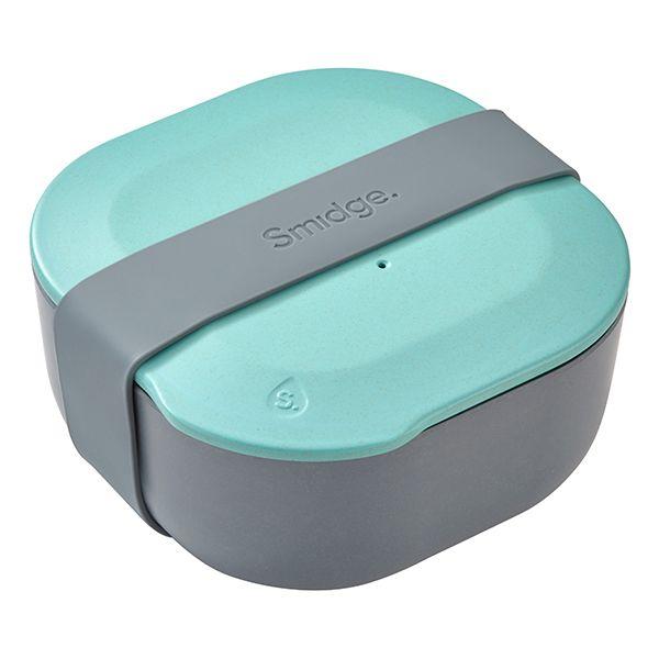 Smidge 15 x 15cm 1L Lunch Box Storm & Aqua
