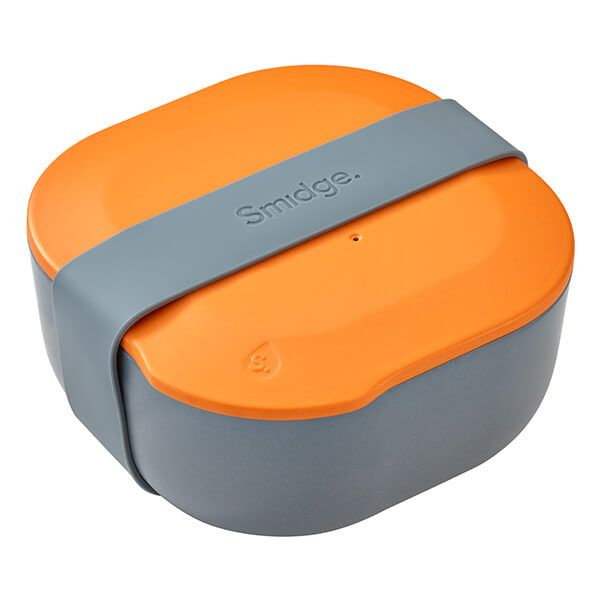 Smidge 15 x 15cm 1L Lunch Box Storm & Citrus
