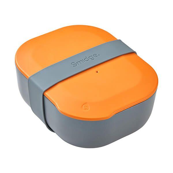 Smidge 18 x 15cm 1.3L Lunch Box Storm & Citrus
