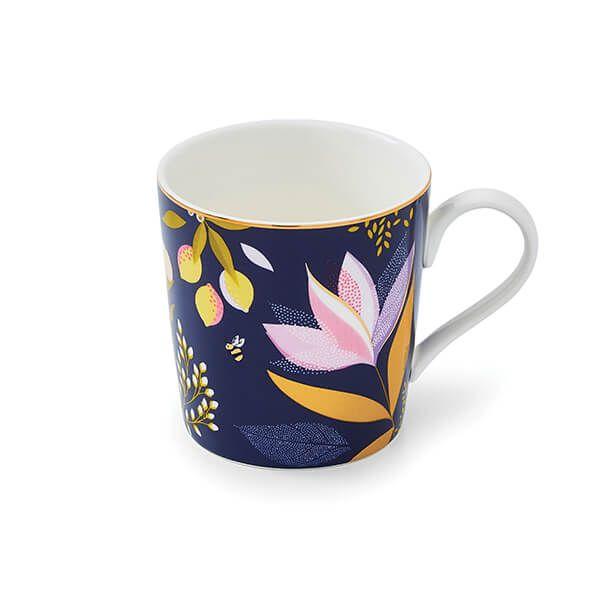 Sara Miller Orchard Navy Mug
