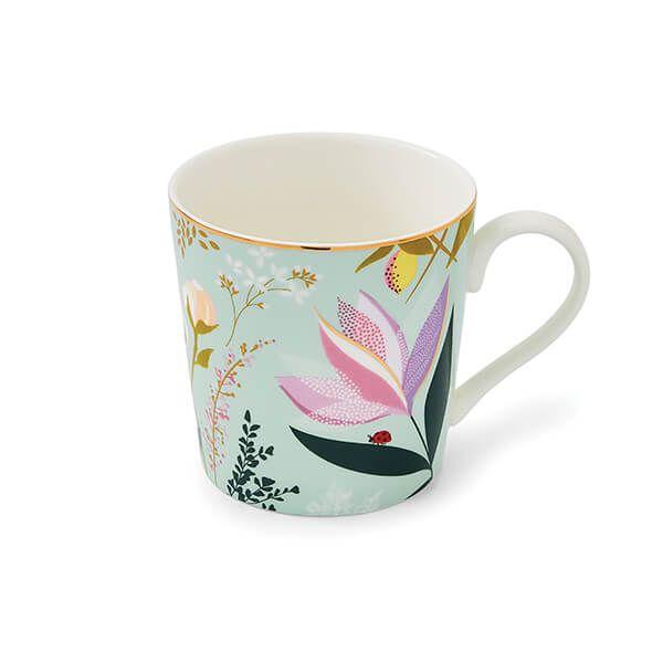 Sara Miller Orchard Sage Mug