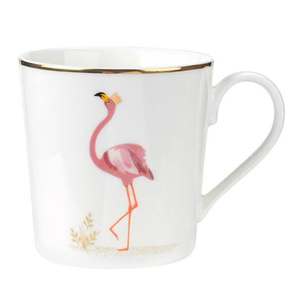 Sara Miller Piccadilly Flamboyant Flamingo Mug