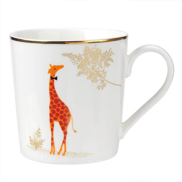 Sara Miller Piccadilly Genteel Giraffe Mug
