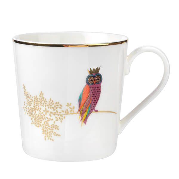 Sara Miller Piccadilly Opulent Owl Mug