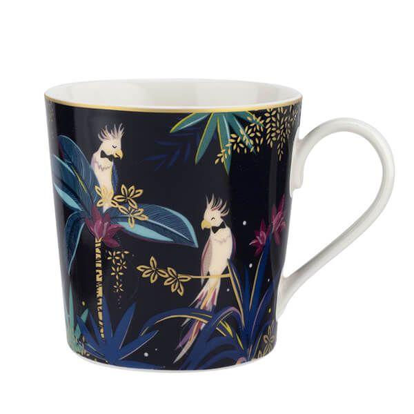 Sara Miller Tahiti Cockatoo Mug
