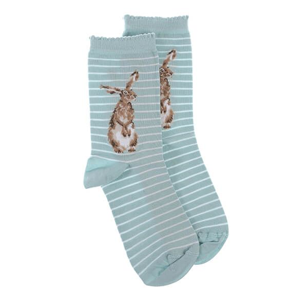 Wrendale Designs Hare And The Bee Hare Socks