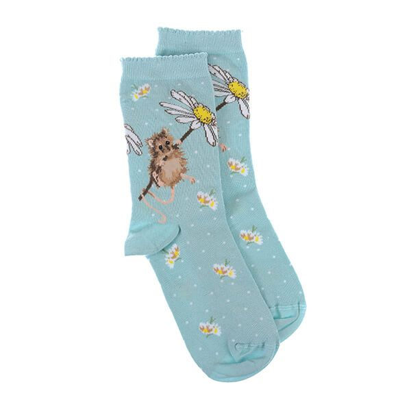 Wrendale Designs Oops A Daisy Mouse Socks