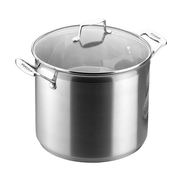 Scanpan Impact 7.2L Stock Pot with Lid