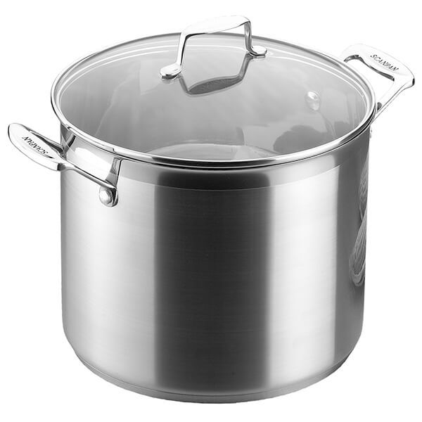 Scanpan Impact 11.0L Stock Pot with Lid