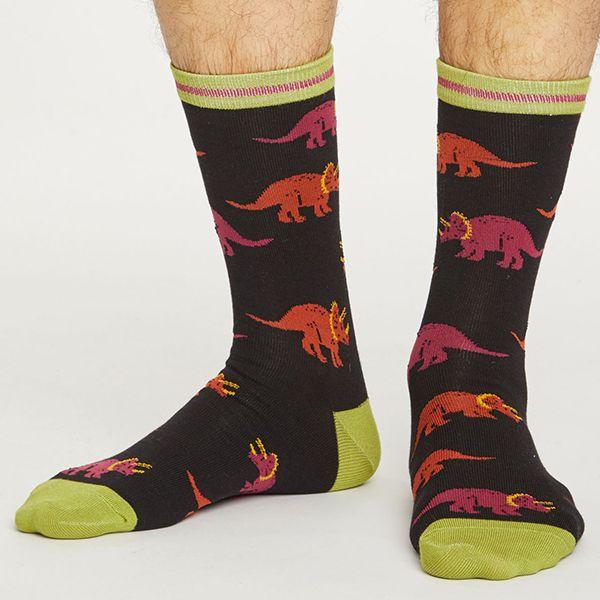 Thought Black Cretaceous Socks