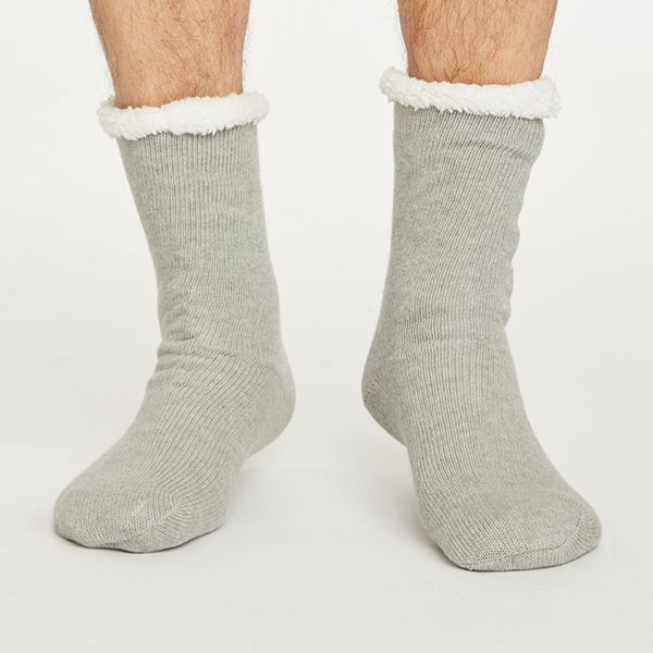 Thought Grey Marle Cabin Socks