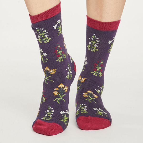 Thought Royal Purple Sylvan Socks