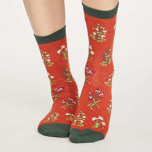 Thought Terracotta Sylvan Socks