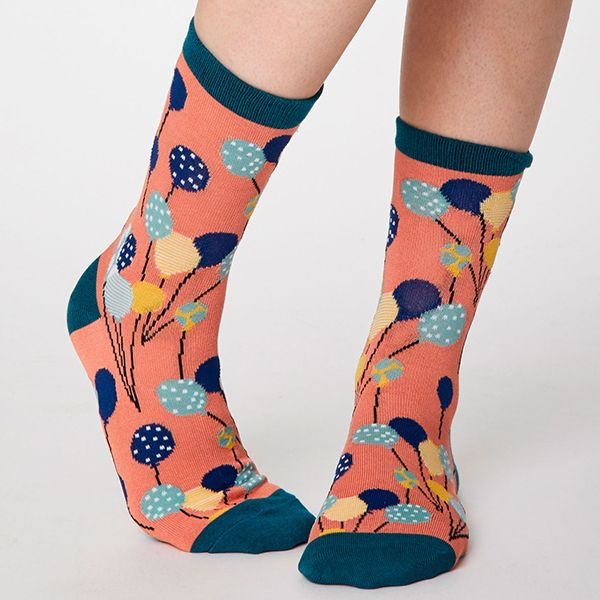 Thought Apricot Nettie Socks