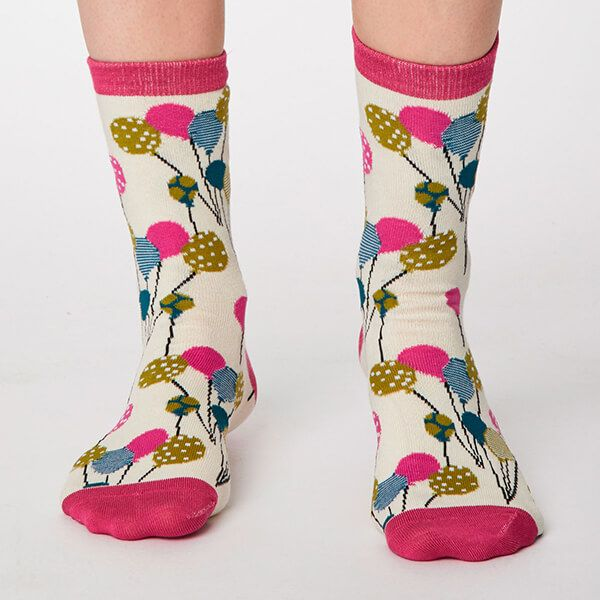 Thought Cream Nettie Socks