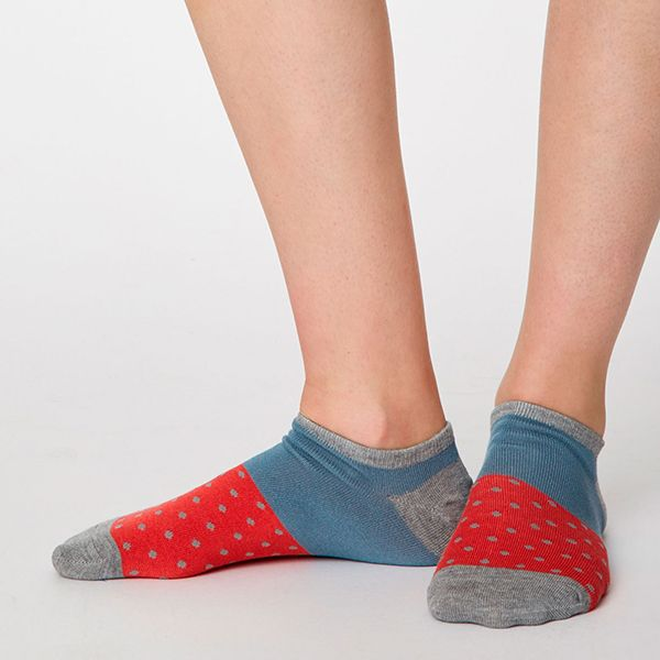 Thought Coral Esther Trainer Socks