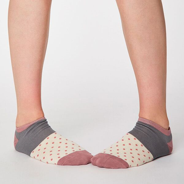 Thought Cream Esther Trainer Socks