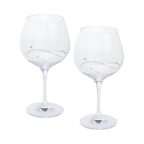 Dartington Glitz Swarovski Elements Set Of 2 Gin and Tonic Glasses