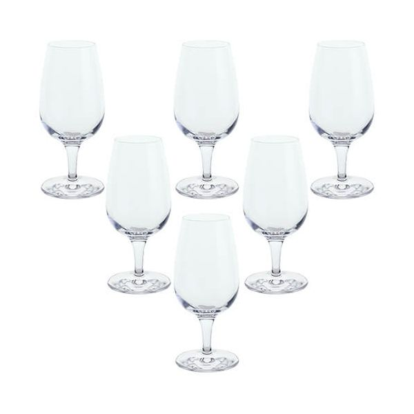 Dartington Six Port Glasses