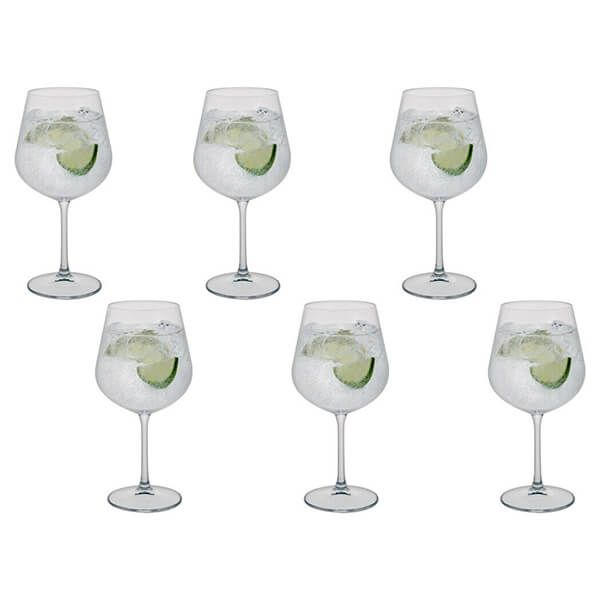 Dartington Select Set Of 6 Gin Copa Glasses