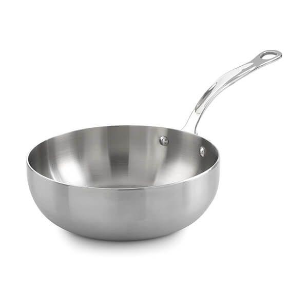 Samuel Groves Classic Stainless Steel Triply 20cm Chefs Pan