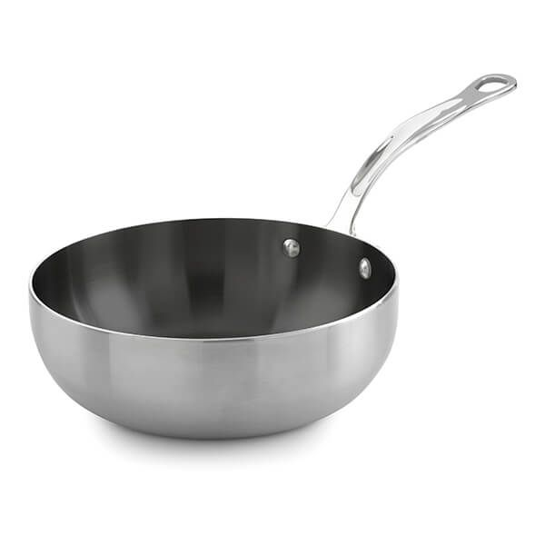 Samuel Groves Classic Non-Stick Stainless Steel Triply 26cm Chefs Pan