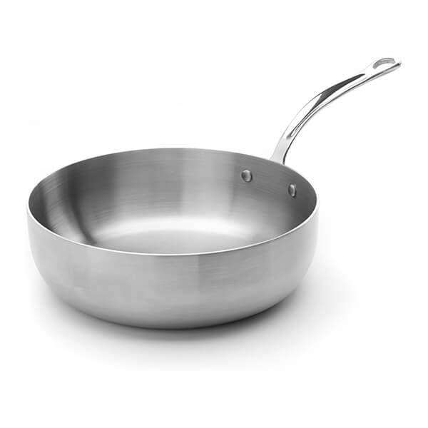 Samuel Groves Classic Stainless Steel Triply 24cm Chefs Pan