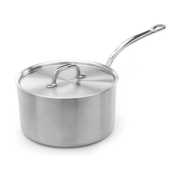 Samuel Groves Classic Stainless Steel Triply 20cm Saucepan with Lid