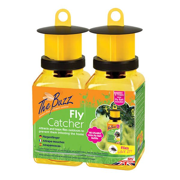 The Buzz Fly Catcher - Twinpack