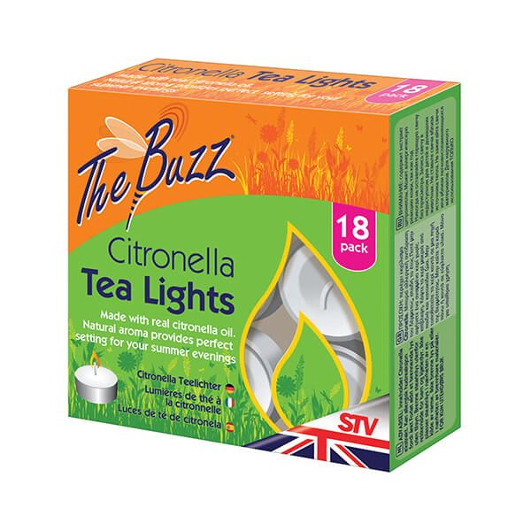 The Buzz Citronella Tea Lights